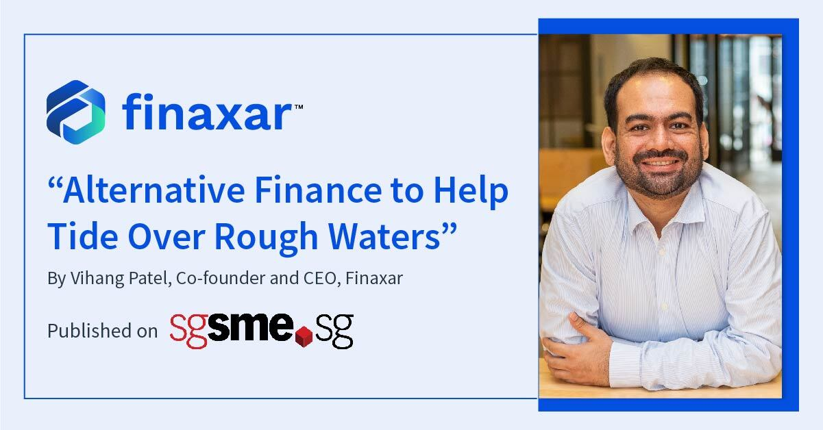 Alternative Finance to Help Tide Over Rough Waters
