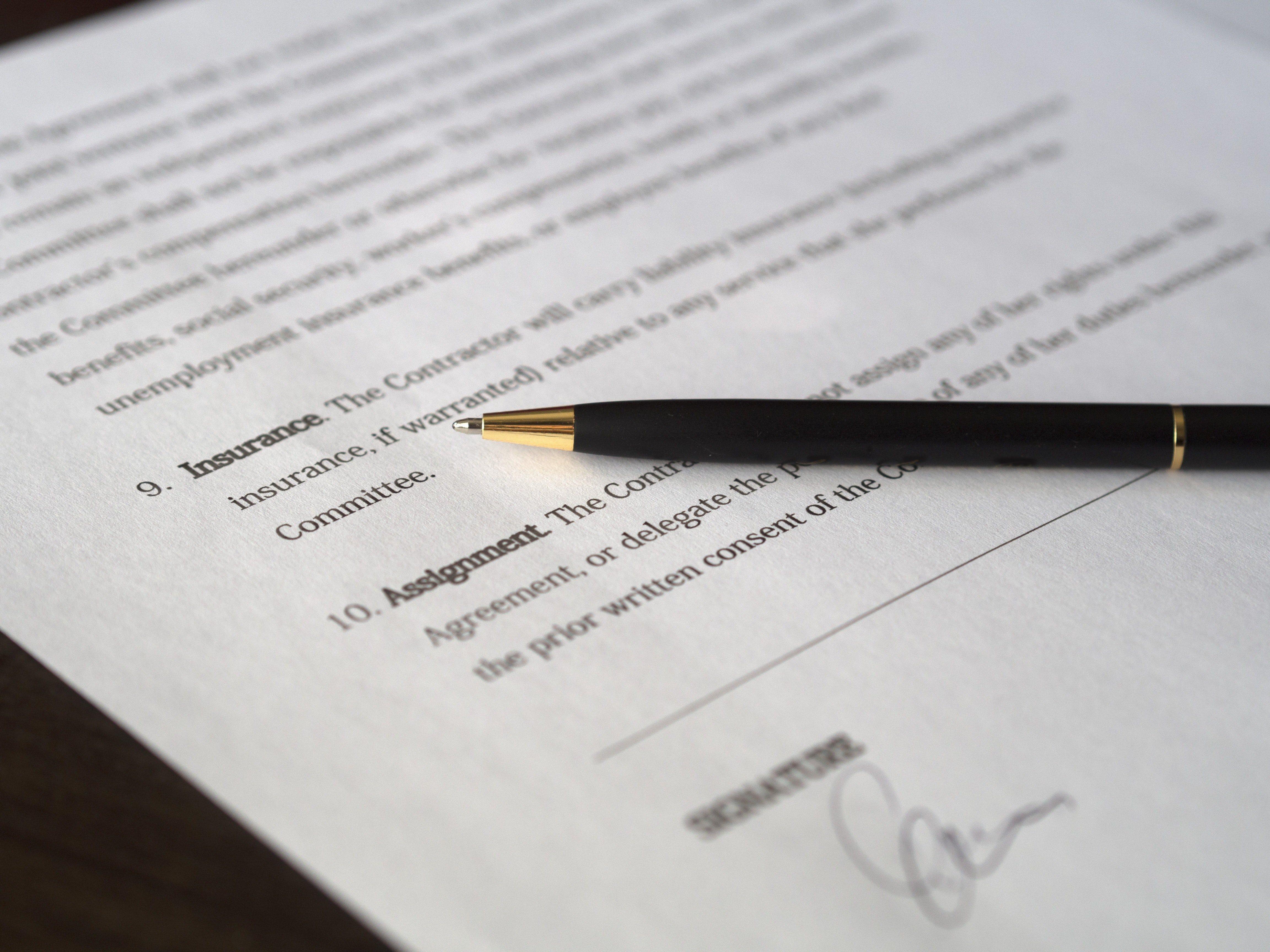 Lease or Licence Agreement